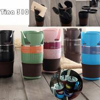 çoklu içecek bardağı tutacakları toptan satış-5 Renkler Ayarlanabilir 5 1 Otomatik Çok Bardak Tutucu Beşikler Mounts İşlevli Araç Içecek Tutucular Kupa Kancalar T2I5083