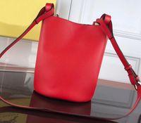 Wholesale drawstring bag brown resale online - Designer handbags ladies handbags ladies shoulder bag bucket wallet large capacity fashion handbag Double bread