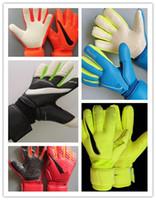 Wholesale drop gloves resale online - 2020 sgt goalkeeper gloves brand LATEX goalie football soccer luvas drop shipping supplier