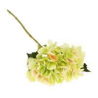 ingrosso fiore artificiale ortensia verde-Verde artificiale della festa nuziale della pianta della festa nuziale della pianta di seta dell'ortensia artificiale