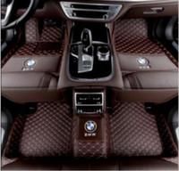 fußmatten bmw großhandel-Für Fit Für BMW 3er E90 E92 E93 2005-2011 Luxus benutzerdefinierte Auto Fußmatten Fußmatte