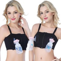 c3803bb6d7e Maternity No steel ring Bra for Nursing Push Up Hands Free Breast Pumping Bra  Pregnant woman Breast Feeding Bra Underwear C5607