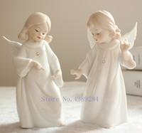 Wholesale ceramic angels decorations for sale - Group buy Nordic Creative ceramics angel Cute girl Modern home Decorative decoration Children s bedroom Decorative crafts Figurine