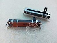 15mm welle großhandel-Radio Domestic Potentiometer 6 A Zentimeter direkt gleitende Clippers Single Lian Potentiometer 22ka Shaft High 15mm