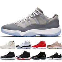 Wholesale best shoes for christmas for sale - Group buy 2020 Best Concord s Mens Basketball Shoes For Men Platinum Tint Cap And Gown Rose Gold Gamma Blue Bred