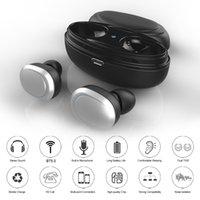 auscultadores invisíveis do bluetooth da orelha venda por atacado-T12 TWS Auscultadores sem fios Bluetooth 5.0 fone de ouvido intra-auriculares estéreo Music Box carregamento Invisible Earbuds mãos livres