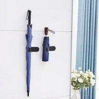 kanca şemsiyeleri toptan satış-1 Adet şemsiye küçük kanca Kapalı şemsiye Çok fonksiyonlu araba küçük kanca Kendinden yapışkanlı Ev ürün Araba malzemeleri standı