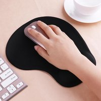 Wholesale pu gel pads resale online - Mouse Pads With Wrist Rest Support Mouse Pad Silicone Gel Hand PU Anti slip Hand Pillow Memory Cotton Gaming Pad Mat