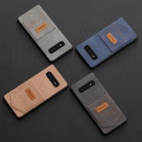 Wholesale retail package universal packaging online - High Quality Cowboy Case For iPhone X XR XS MAX Back Cover With Card Slot For Samsung S10 S10 S10E Retail Package