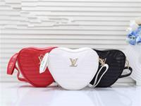kalp şeklinde çanta toptan satış-2019 moda kadınlar ünlü markalar hangbag büyük çanta desginer Kalp şeklinde messenger çanta debriyaj çanta çanta ücretsiz kargo Omuz Çantaları 9840