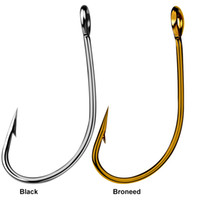 Wholesale steel salmon online - fish pant pc Barbed Hook A Material fishhook Fly Hooks Fishing Trout Salmon Dry Flies Fish Hook Tackles