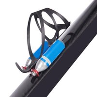 Wholesale carbon mountain water bottle cage resale online - Metal Double Water Bottle Cage Mountain Bike Bicycle Water Bottle Holder Cage