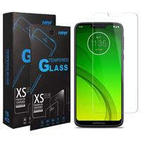 moto g pantalla templado al por mayor-Celular vidrio templado para el Moto G7 alimentación G séptima Gen Motorola Moto E5 G6 G7 más Z3 Juega E6 E6 + Protector de pantalla transparente