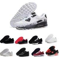 кроссовки сандалии мужчина оптовых-2019 дешевые мужские кроссовки обувь классические 90 мужские кроссовки женские спортивные кроссовки классические роскошные мужские женские дизайнерские сандалии обувь