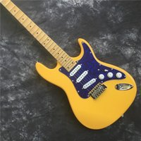 Wholesale guitars st yellow for sale - Group buy Top quality ST electric guitar cream yellow