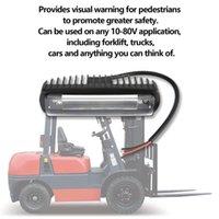 12V-48V 30W Blue//Red LED Forklift Truck Safety Line Warning Lamp Warehouse Light