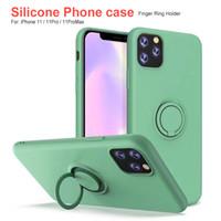бронированный гибридный ударопрочный чехол оптовых-Для Iphone 11 Iphone x чехол силиконовый держатель кольца чехол задняя крышка для iphone 6 плюс 7 8
