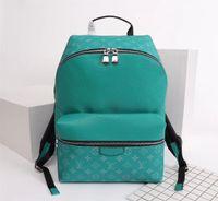 öğrenci çapraz çantaları toptan satış-APOLLO KEŞFETI PM Sırt Çantası Yüksek Kaliteli Yumuşak Tayga Deri Omuz çantası Çapraz Vücut Laptop çantası Öğrenci çantası bookbag Çanta çanta