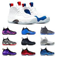 Wholesale basketball shoes sales usa resale online - 2020 Hot Sale Hardaway Men basketball shoes PURPLE CAMO white CNY TECH FLEECE USA RUST PINK ROYAL BULE sports sneakers size