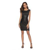 vestidos de fiesta de piel al por mayor-Más nuevo estilo Skinny Fit Fashion Bodycon Lápiz de fiesta para mujer Cóctel Prom Office Lady Vestido de talla grande