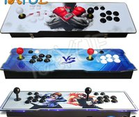 vente de jeux vidéo achat en gros de-2018 [1500 HD] Console de jeux vidéo Arcade Jeux rétro plus Machine d'arcade Double arcade Joystick avec haut-parleur Ventilateur Vente chaude