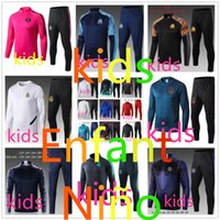 fc Barcelone real madrid ajax paris psg jordan juventus Atletico Madrid Manchester City france survetement foot enfant kids soccer tracksuit 2019 2020
