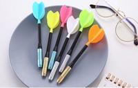 wholesale gel pens Creative Dart Neutral Pen Children's Cartoon Writing Pen Student's Whole Needle Tube Pen393