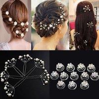 Wholesale hair for bridesmaids for sale - Group buy Bride Bridesmaid Hair Accessories Pearl Hair Pin Clip Crystal Rhinestone Wedding Hairpins Sticks for Women Headdress