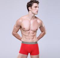 boxeadores modales xl al por mayor-Sexy Giv Hombres Boxers Hommes Diseñador Lujo Hombre Calzoncillos Ropa interior