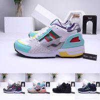 designer c venda por atacado-Mens Running Shoes EQT4 Consórcio zx 10.000 C Solebox Torsion Allegra Designer Atletismo Formadores pai ZX10000 Tênis sapatos 36-45