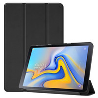 Wholesale solid color case note online - 30pcs Book Flip Cover Case for Samsung Galaxy Tab Advanced SM T583 T583 inch Tablet Stylus Pen