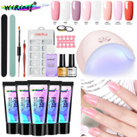 8fbd85ee386 Wholesale gel nail extension kits for sale - Group buy Nail Poly Gel Set Uv  Fast