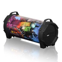 Wholesale high bass mp3 player resale online - Smalody Bluetooth Speaker Outdoor Wireless Stereo High Bass with Carrying Strap For Camping Party Big Speakers Good Sound Better Charge2