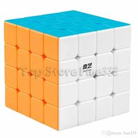 Wholesale toy s resale online - Qiyi x4 Speed Cube D FantiX Stickerless Magic Puzzle Toy Gift for Kids and Adults Challenge Qiyuan S Version