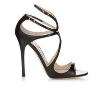 schwarze n weiße high heels großhandel-Frauen Designer Sandalen So Kate Styles Mode Luxuxmädchen hohe Absätze 10CM 12CM LANCE schwarz pink Weißgold Silber Leder Punktgröße 35-42