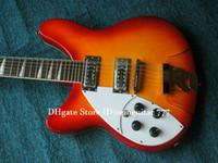 12 cuerdas zurdas guitarra al por mayor-Izquierda cereza estalló la guitarra eléctrica Cuerdas Handed 12 325 330 OEM de China Guitarra Los más vendidos