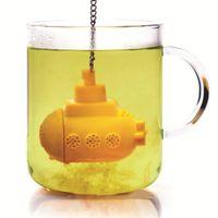 buzo de té al por mayor-1 Unid Diver Tea Bag Tea Coladores Personalidad Creativa Cucharilla Dispositivo de Té para la Oficina en Casa