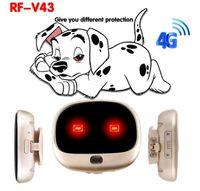 Wholesale waterproof phone gps 4g resale online - 4G GPS personal tracker mini GPS pets tracker G LTE G WCDMA G GSM best dog gps tracker with Free APP waterproof