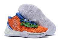 Wholesale cream housings online – custom 2020 Sponge x Kyrie Pineapple House Mens Basketball Shoes Irving s Graffiti Keep Sue Fresh CJ6951 Designer Sneakers Eur