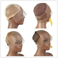 Wholesale adjustable net wig cap for sale - Group buy Glueless Full Lace Wig Cap X6 Lace Front Wig Net Cap Weaving Caps L M S Wig Caps For Making Wigs Adjustable