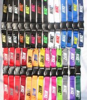 Wholesale keychain lanyards for sale - Group buy New sport Clothes logo Lanyard ID Badge Keychain Holder Neck Strap Detachable Multicolor