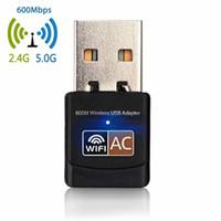 ingrosso mini pci e carte-New Fashion Mini Scheda di rete wireless per computer a doppia banda Adattatore PCI-E WiFi Scheda di rete wireless di moda