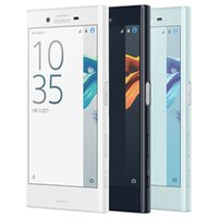 cell smart mini оптовых-Восстановленный оригинальный Sony X Compact Mini F5321 4.6 inch Hexa Core 3GB RAM 32GB ROM 23MP Camera Android 4G LTE Smart Cell Phone DHL 5 шт.