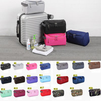 Wholesale tidy bags for sale - Group buy Cosmetic Bag for Women Men Travel Bag Waterproof High Capacity Luggage Clothes Tidy Portable Organizer Cosmetic Case MMA1814