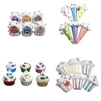 Wholesale christmas ice cream cake for sale - Group buy Christmas Decoration Colored Foam Candy House Pendant Ice Cream Cake Cup Christmas Tree Pendant Supplies
