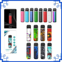 Wholesale 2020 Novo Pod Starter Kits mAh Built in Battery with ml Empty Cartridges Portable Vape Pen Kit
