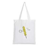 сумка с зеленой тележкой оптовых-new Fashion Women Girls Handbags Reusable Canvas grocery Green Shopping bag Webshop Eco Foldable Shopping Cart Trolley