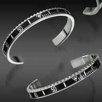 relógios de pulso venda por atacado-Relógio de luxo Estilo Manguito Pulseira de Aço Inoxidável de Alta Qualidade Mens Jóias Partido Moda Pulseira Pulseiras para As Mulheres Homens com caixa de Varejo