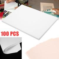 placas aquecidas venda por atacado-100 folhas A4 Dye Sublimation Heat Transfer Paper, folhas de transferência de sublimação Papel de calor para chapéus Caneca Cup placa de vidro