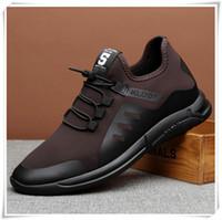 los hombres se visten los cordones de los zapatos de vestir al por mayor-size4140 Hot Newest Cool Men Shoes Round Toe Lace Up Spring Men Casual Zapato Autumn Street usar zapatos de vestir de cuero real Buenas ventas